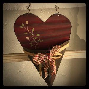Other - Farmhouse/Rustic heart decor